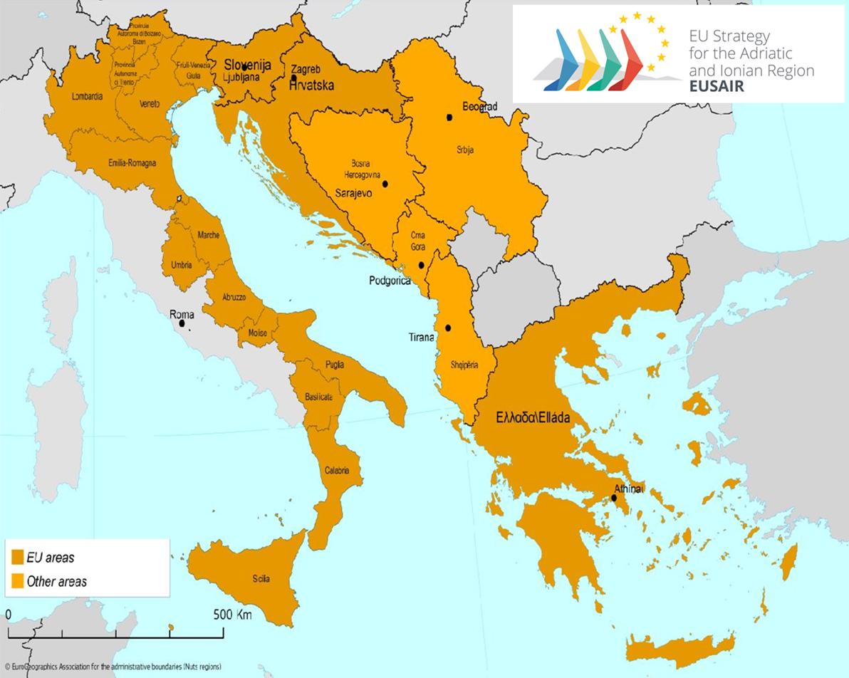 Le strategie macro regionali dell unione europea fare l - Regioni italiane non bagnate dal mare ...