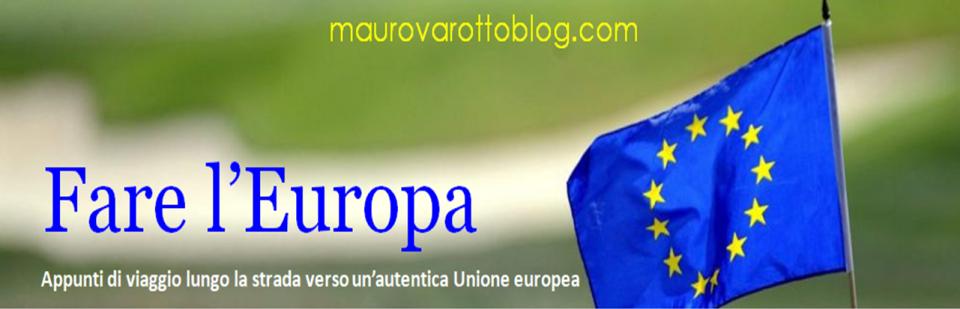 Fare l'Europa